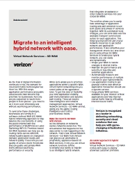 Migrate to an intelligent hybrid network with ease