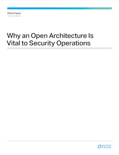 Why an Open Architecture is Vital to Security Operations