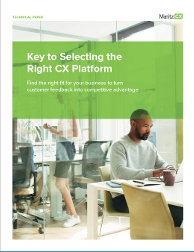Selecting the Right CX Platform