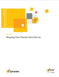 Keeping Private Data Secure